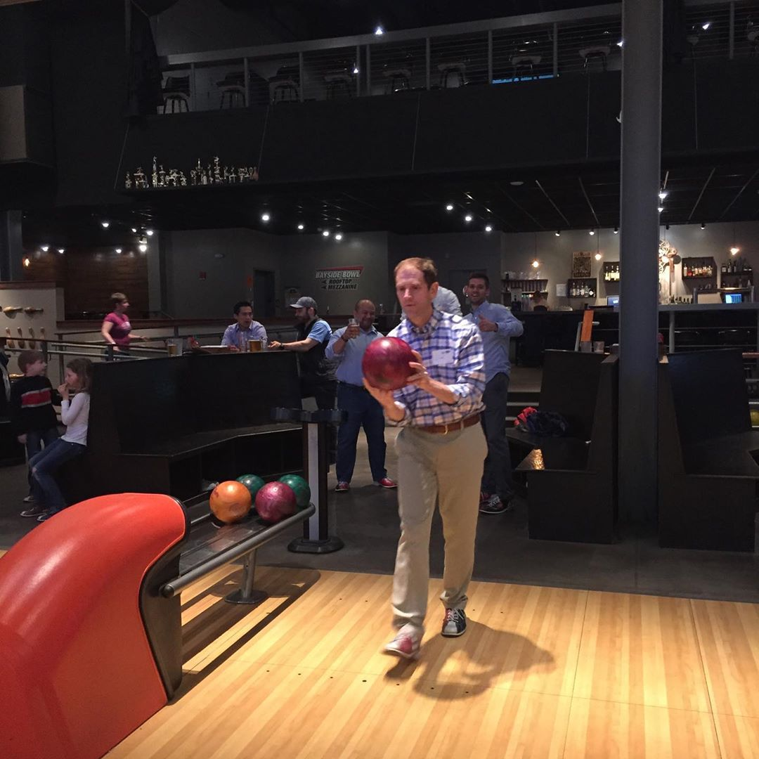 Family Friendly Social at Bayside Bowl: Getting Together, Giving Back.